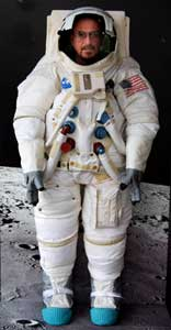 Ian Anderson in Space Suit